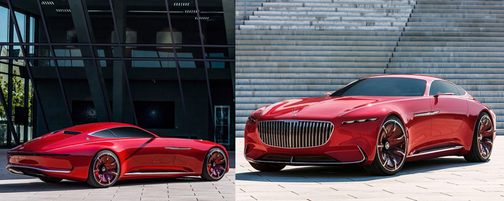 Промдизайн авто Vision Mercedes-Maybach 6